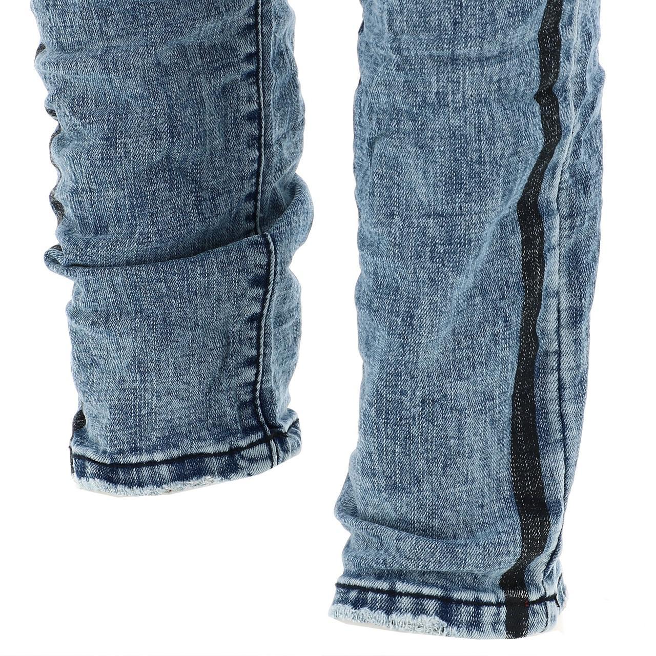 Jeans-Pants-Slim-Terance-Koll-Oscar-Denim-Jeans-Skinny-Blue-28526-New thumbnail 4