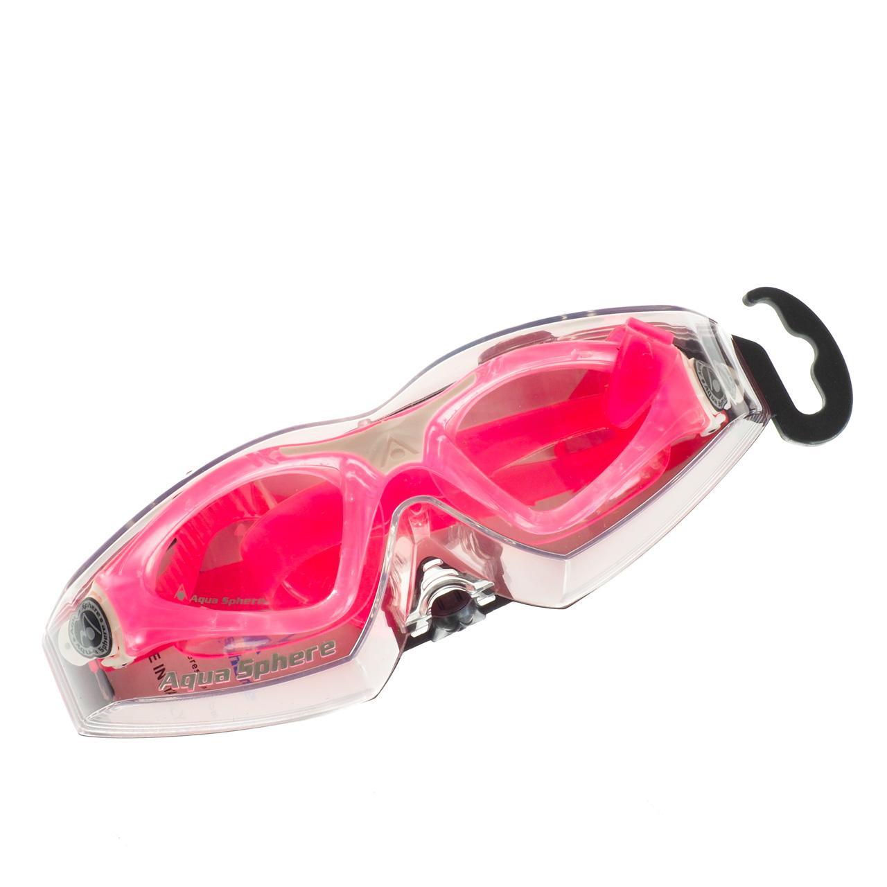 Brille-Bade-Schwimmbad-Aqua-sphere-Kayenne-Jr-Rosa-Wht-CL-L-Rosa-28586-Neu Indexbild 4