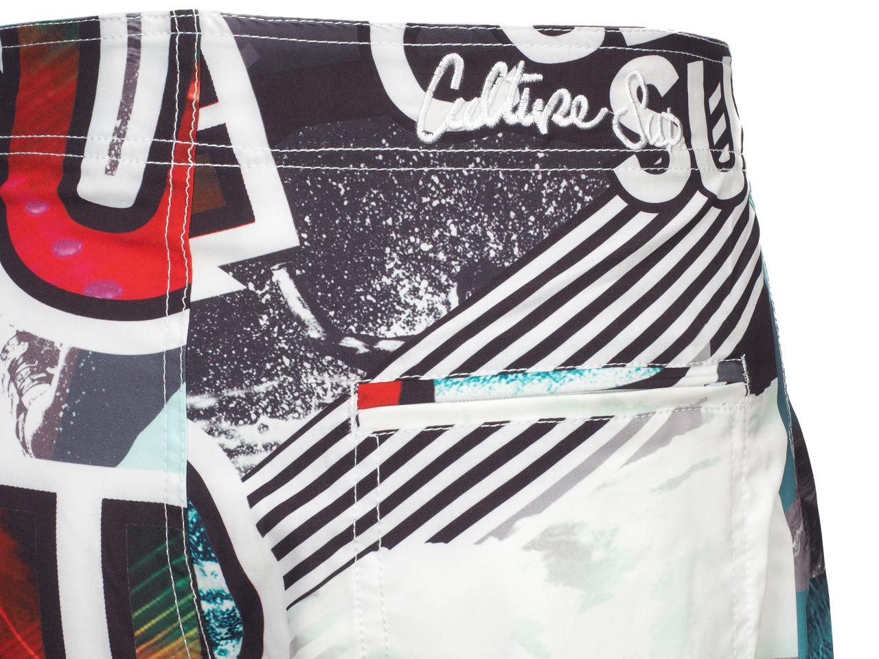 Boardshort-Bathing-Culture-Sud-Ulster-Boardshort-White-37604-New thumbnail 3
