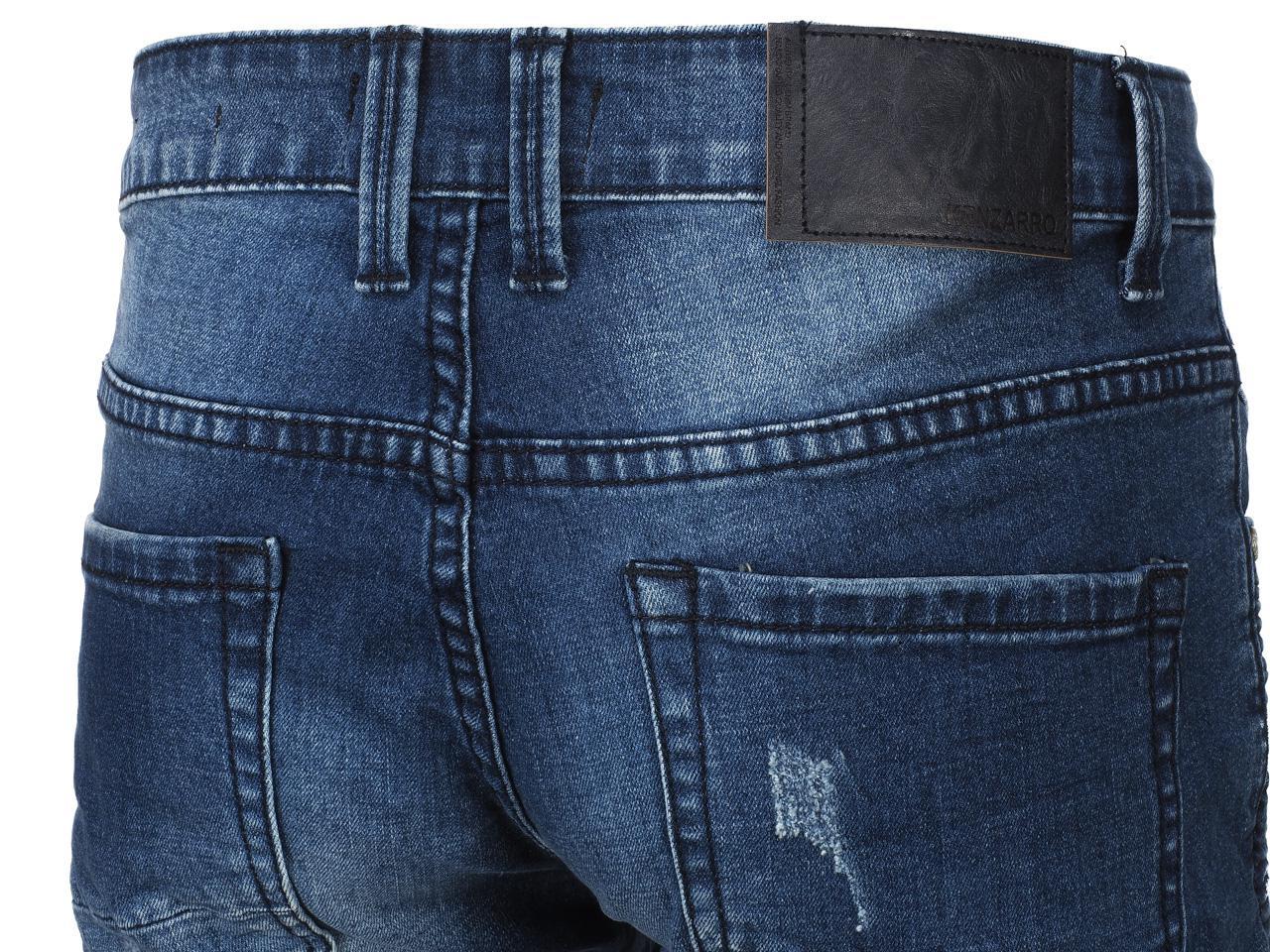 Jeans-Pants-Senders-Angeles-Used-Blue-H-Blue-39982-New thumbnail 4