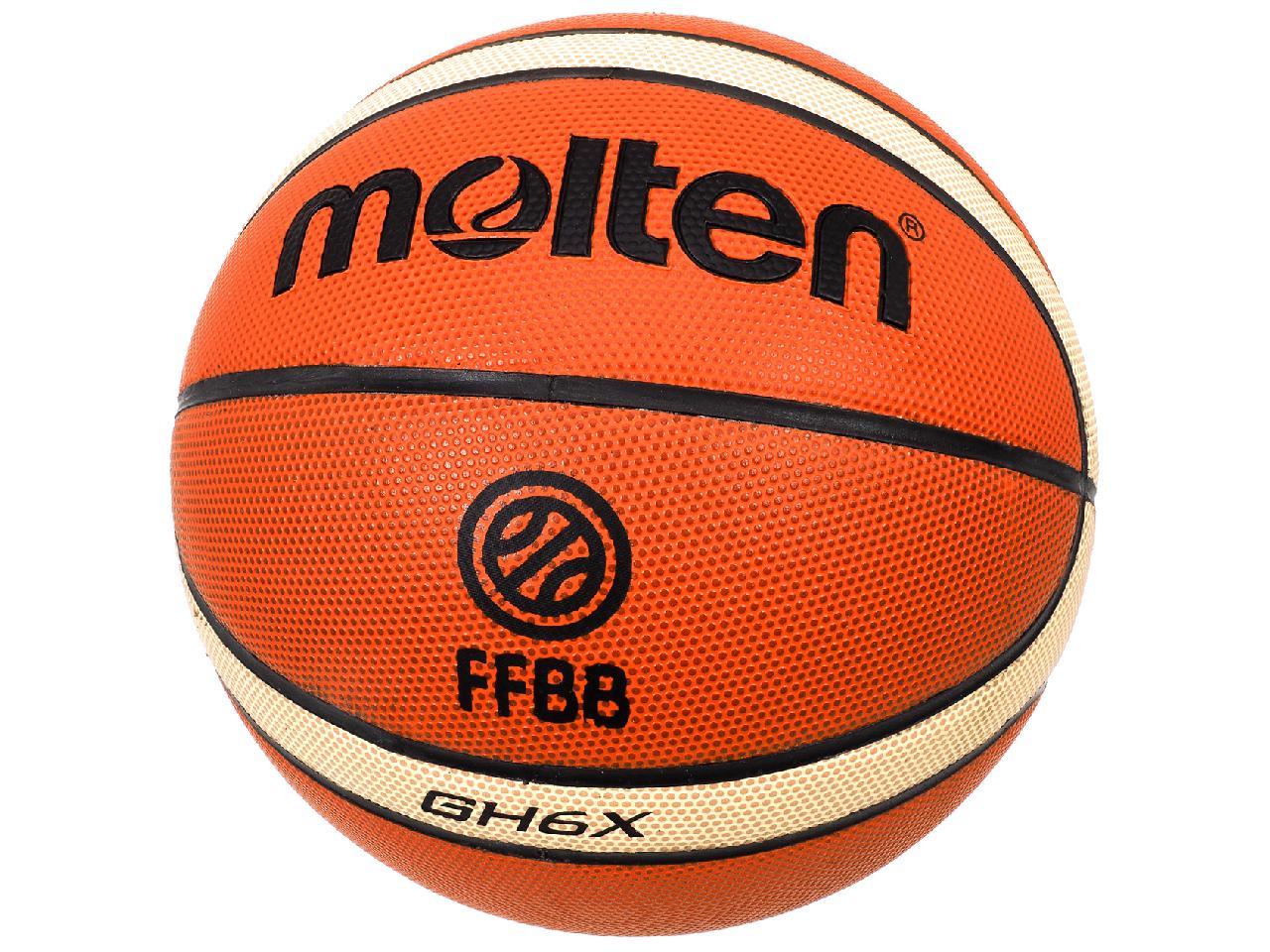 Ball-Of-Basketball-Molten-Gh6x-Training-Indoor-Orange-41622-New thumbnail 4