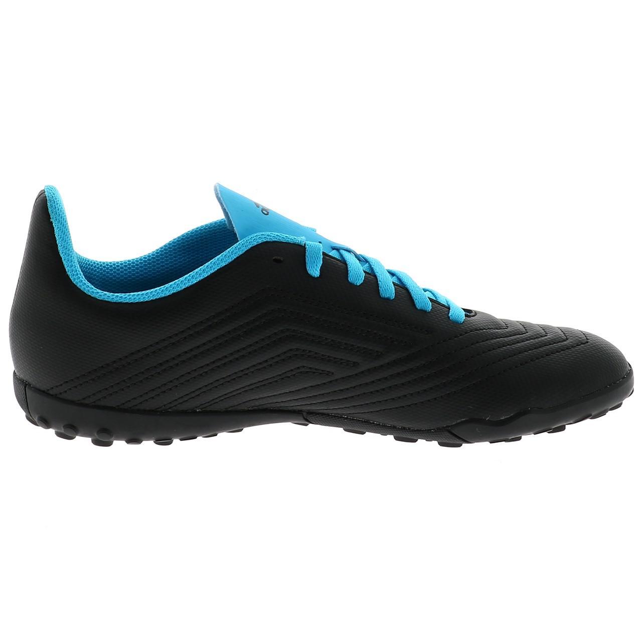 Football-Shoes-Stabilized-Adidas-Predator-19-4-Tf-Jmoule-Jr-Black-42177-N thumbnail 4