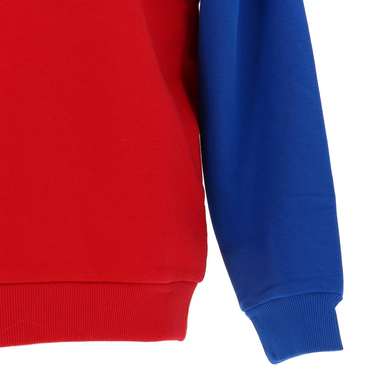Sweatshirt-Fila-Nacht-Blockiert-Jr-Roy-Rge-Blau-43025-Neu Indexbild 4
