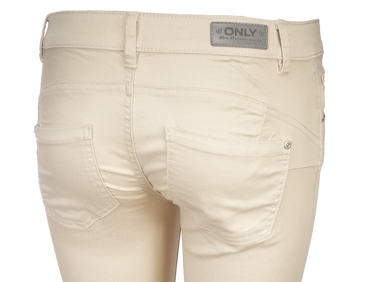 Pantalon-Only-Lucia-32-ecr-skin-push-up-Beige-43781-Neuf