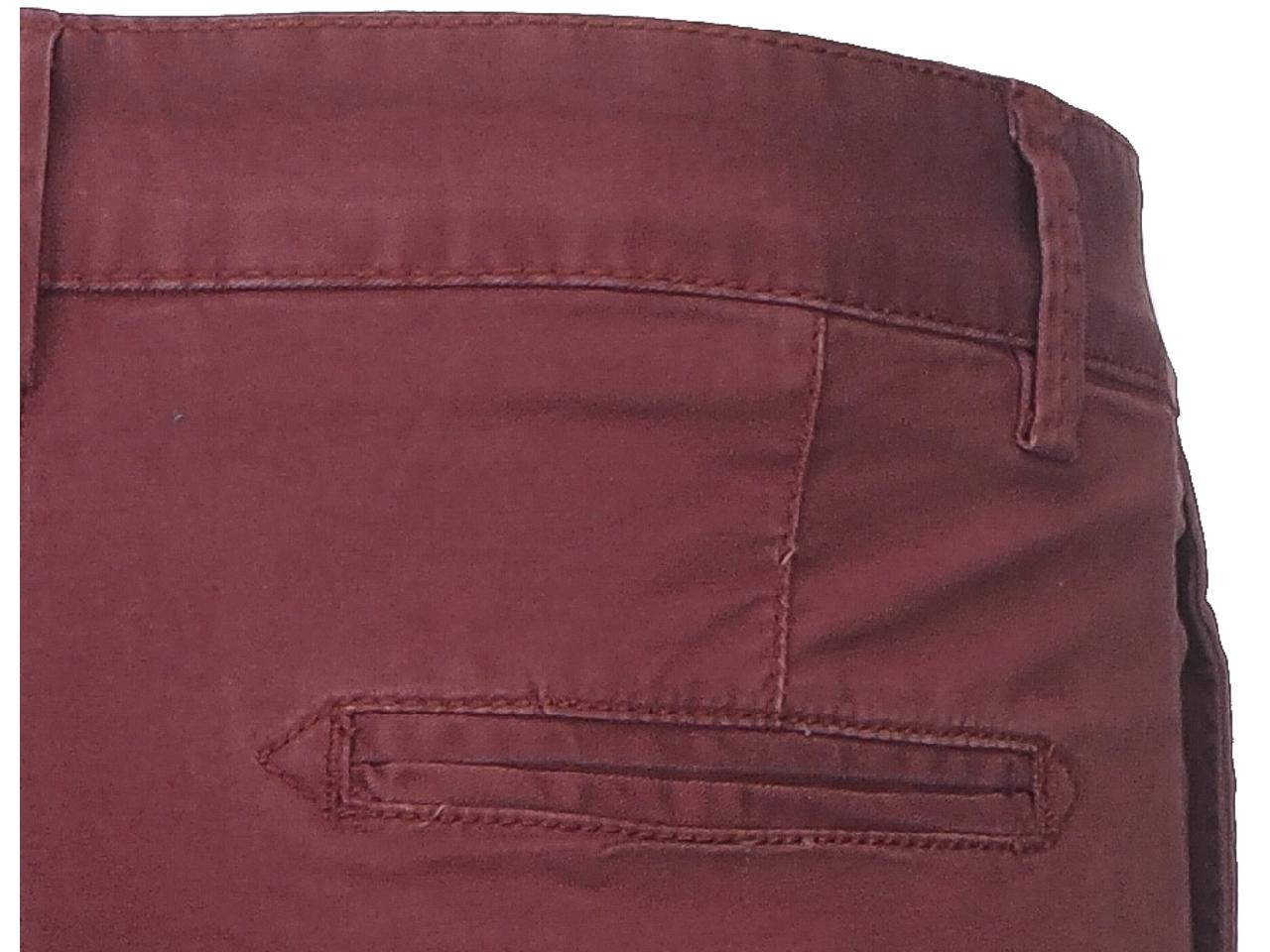 Pantalon-Crossby-Chino-bordeaux-pant-Rouge-44066-Neuf miniature 4