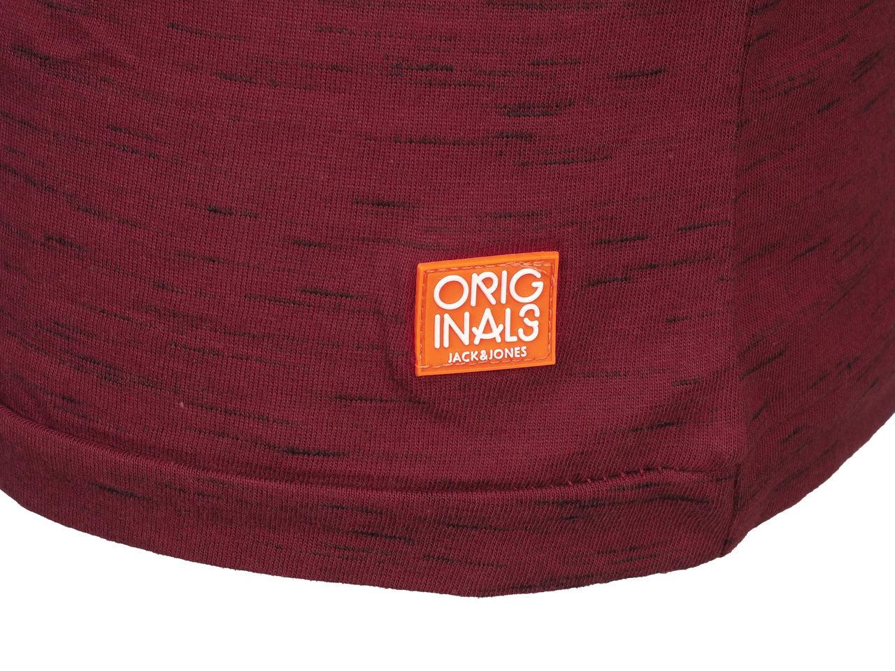 Short-Sleeve-T-Shirt-Jack-and-Jones-Bording-Dbx-Mc-Tee-Slim-Red-44162-N thumbnail 4