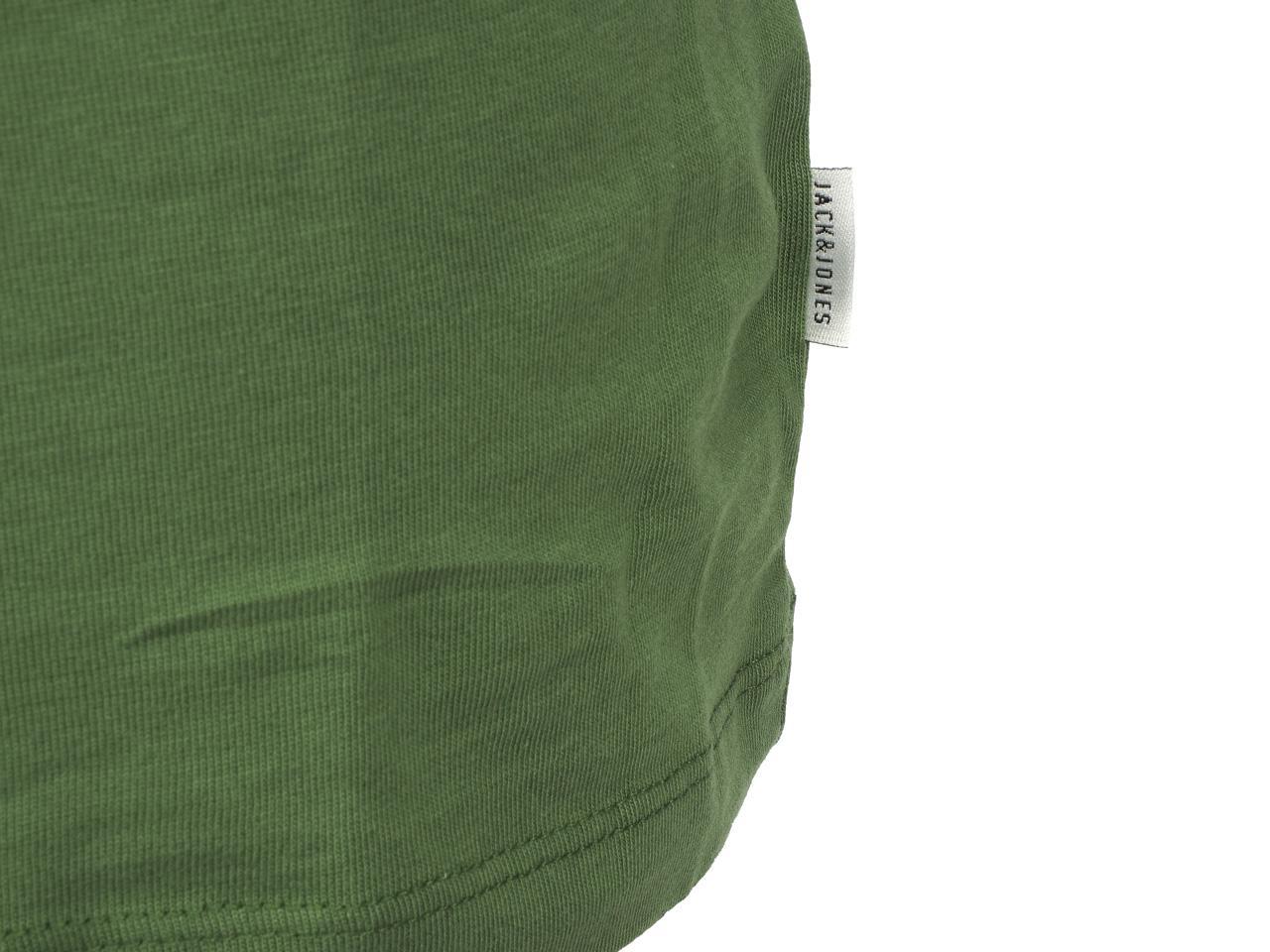 Short-Sleeve-T-Shirt-Jack-and-Jones-Dave-Vineyard-Green-Tee-44186-Does-Not thumbnail 4