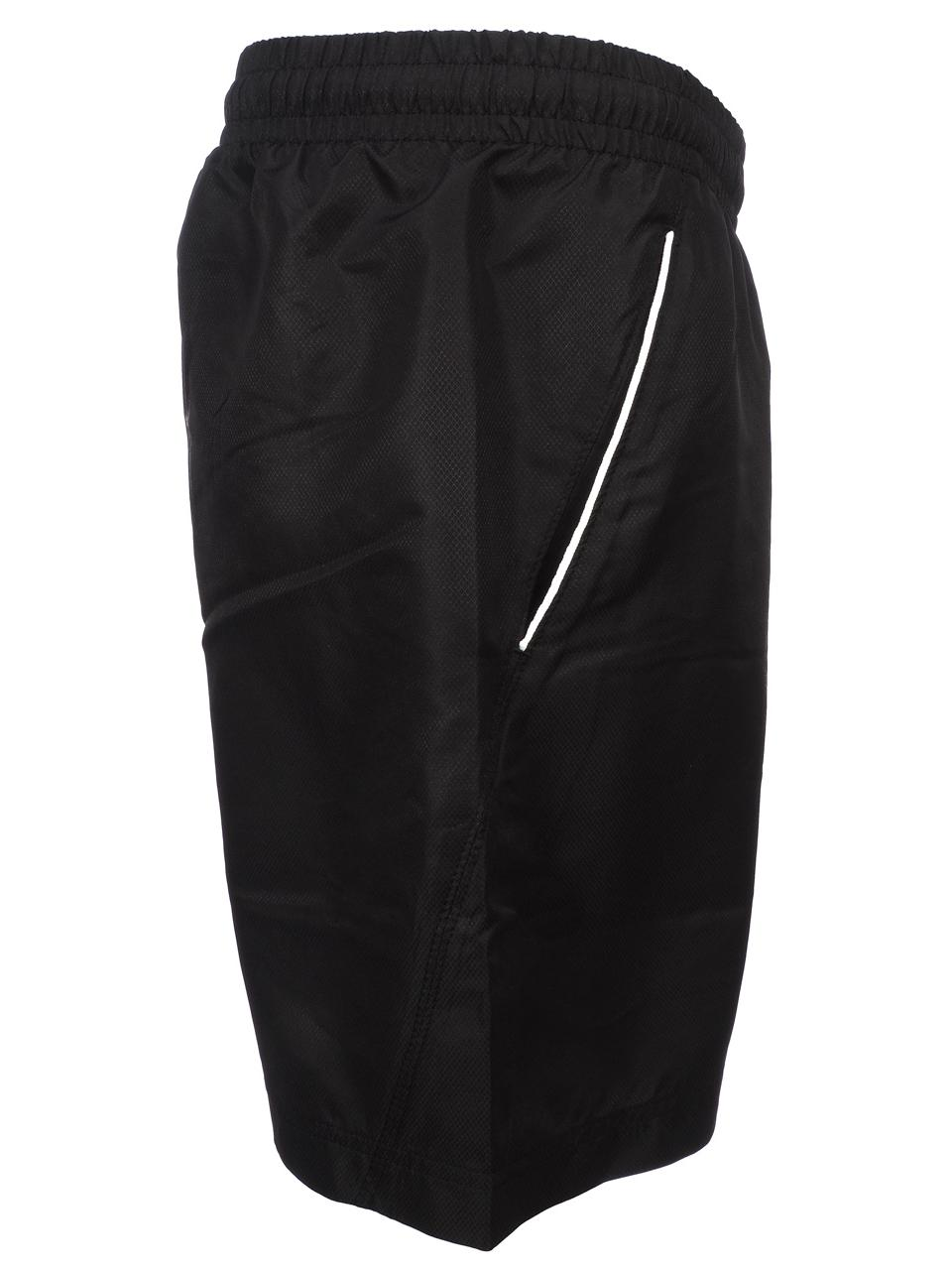 Bermuda-Shorts-Sergio-Tacchini-Rob-017-Black-Black-Shorts-45018-New thumbnail 4