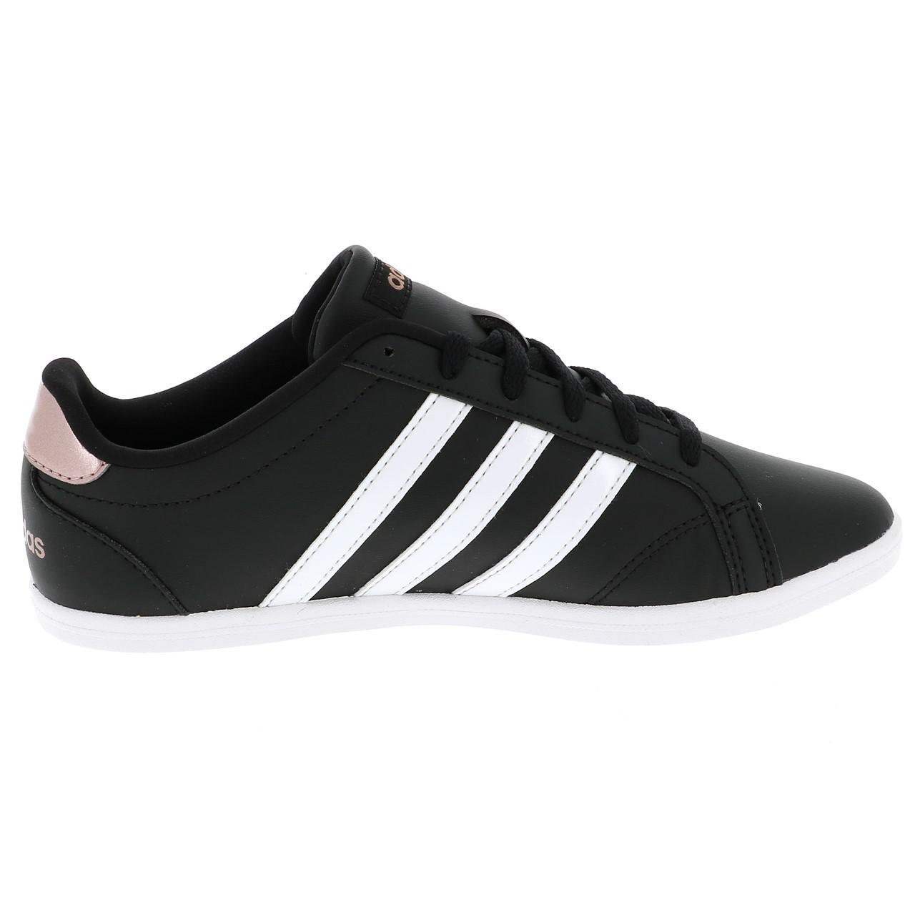 Détails sur Chaussures mode ville Adidas Coneo noir w Noir 48215 Neuf