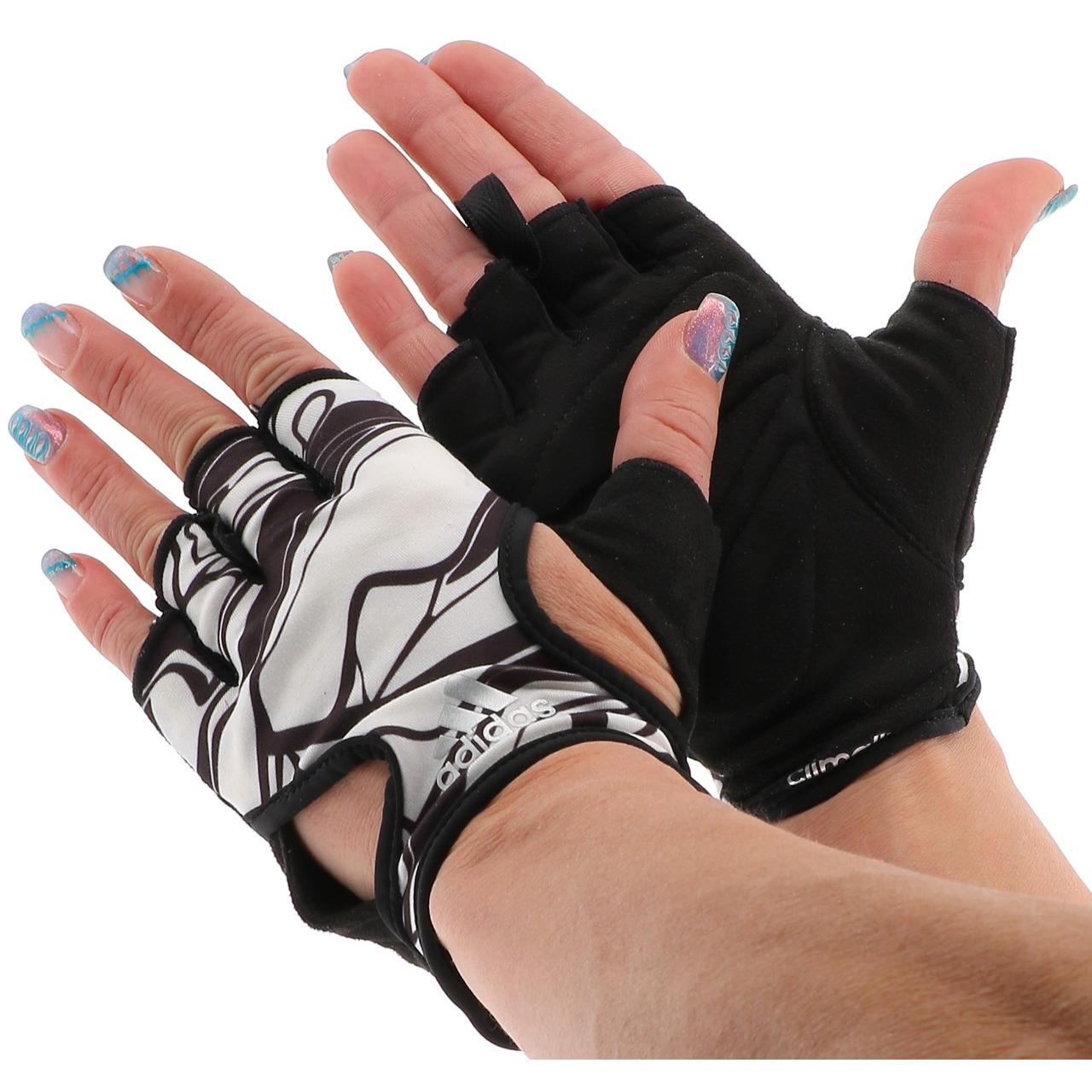 Mitaine-Adidas-Clite-training-femme-Blanc-49309-Neuf miniature 4