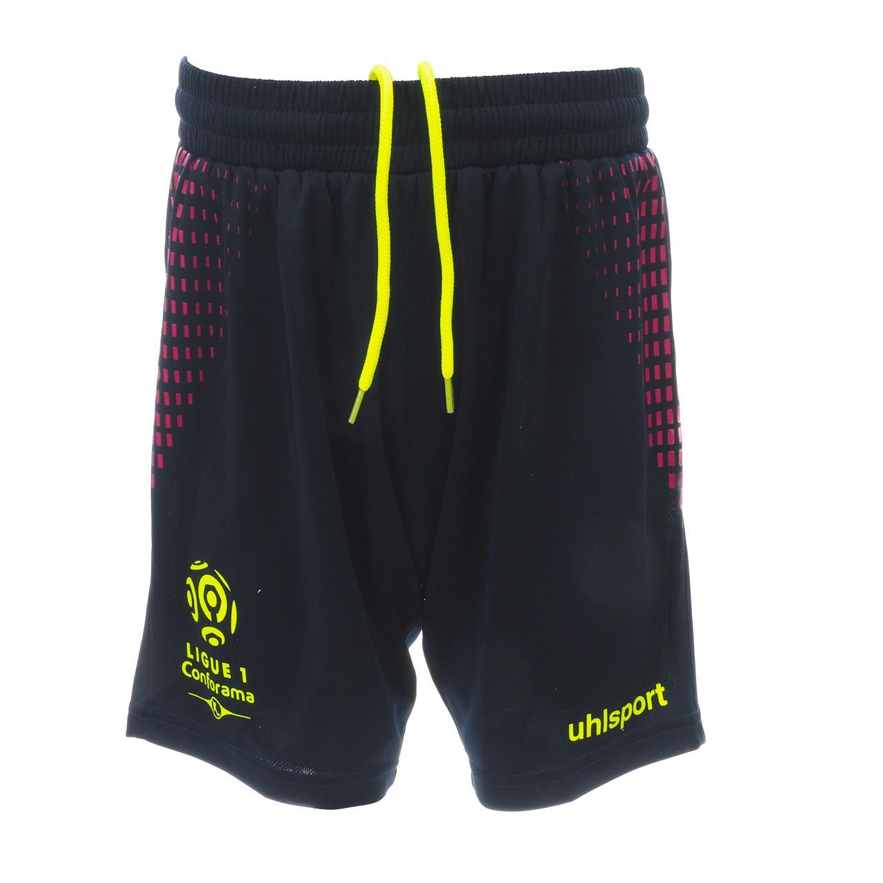 Set-Minikit-Football-Uhlsport-League-1-Jr-Jersey-Sh-Blue-49993-New thumbnail 4