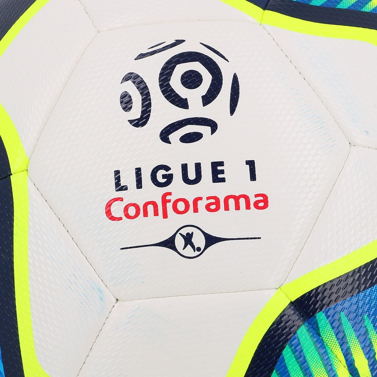 Ball-Football-Leisure-Uhlsport-League-1-Proligue-t5-White-50009-New thumbnail 4