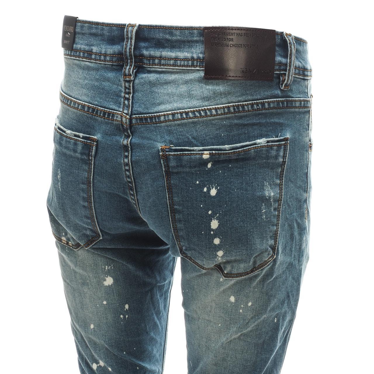 Jeans-Pants-Senders-Rikavik-Used-Blue-Blue-50030-New thumbnail 4