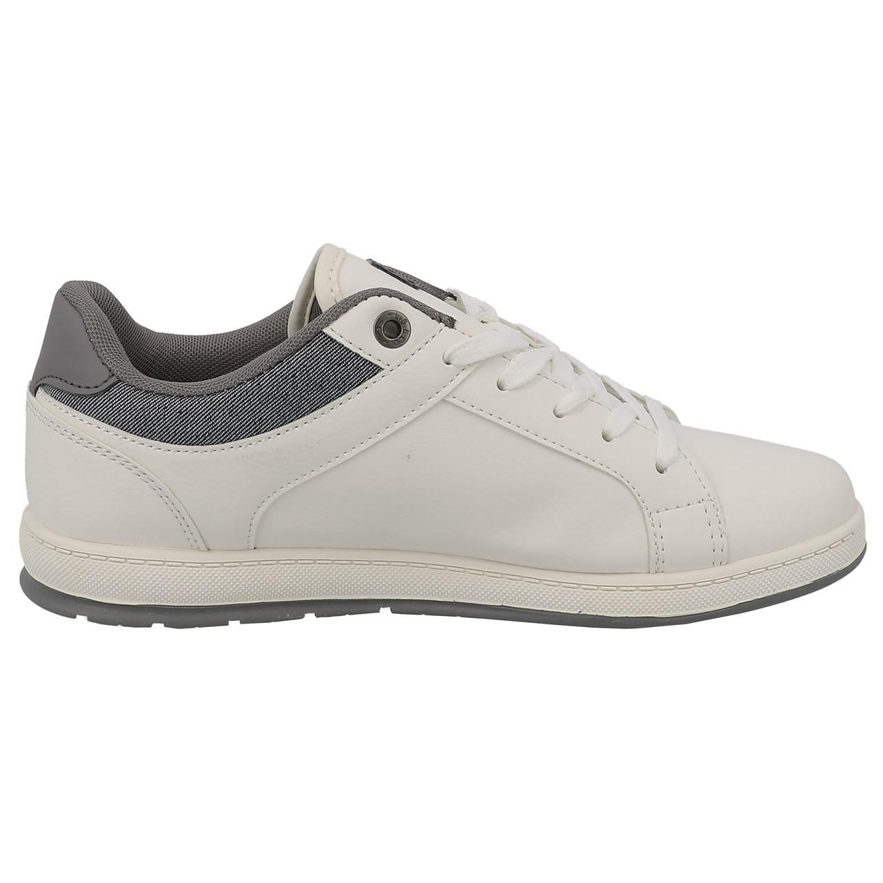 Chaussures-mode-ville-Levis-Declan-blanc-Blanc-53197-Neuf miniature 4
