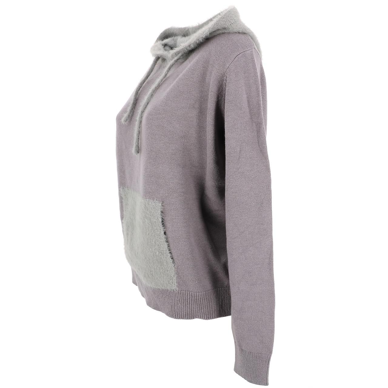Sweat-Lcouture-Mohair-cap-w-gris-Gris-53717-Neuf miniature 4