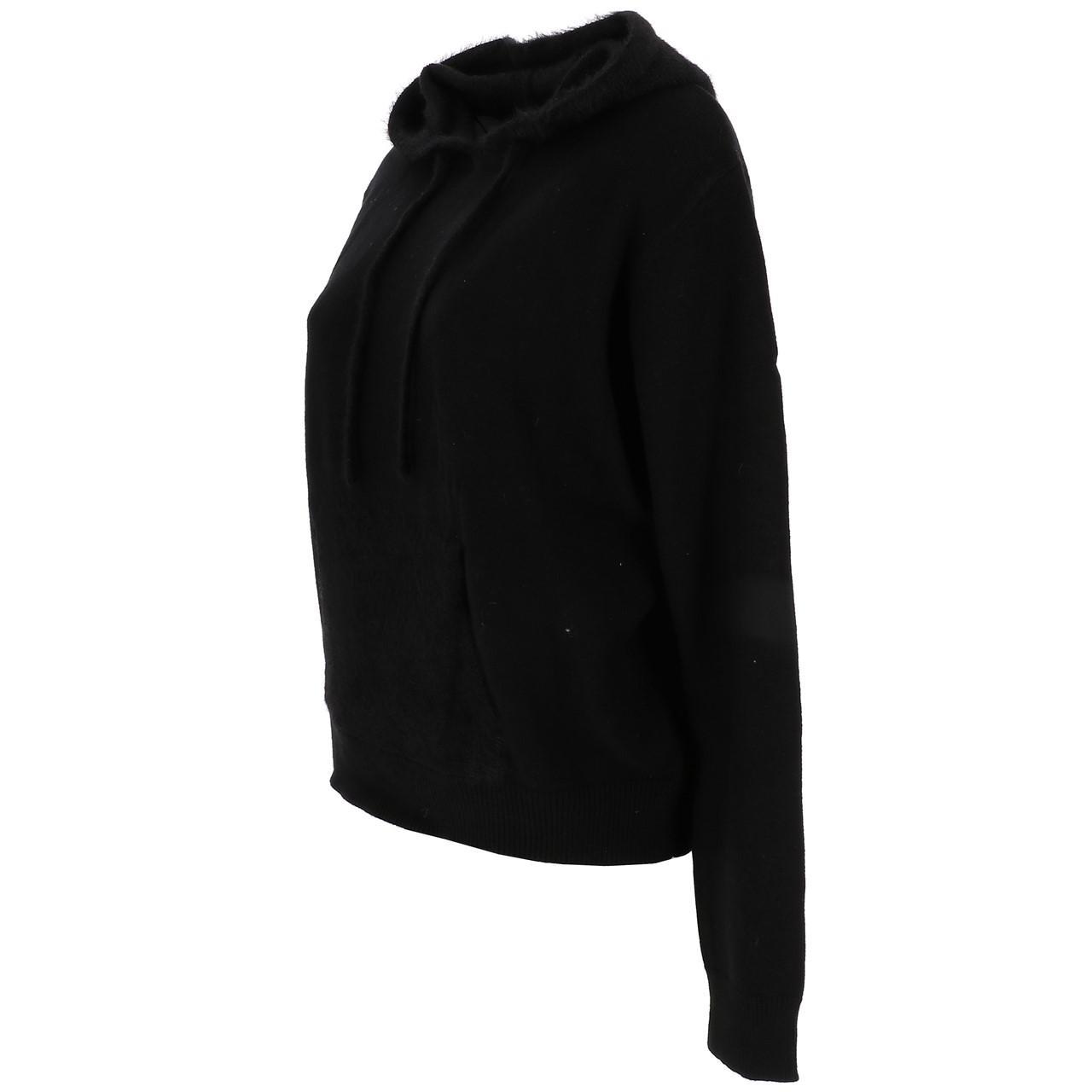 Pull-fin-Lcouture-Mohair-cap-w-noir-Noir-53722-Neuf miniature 4