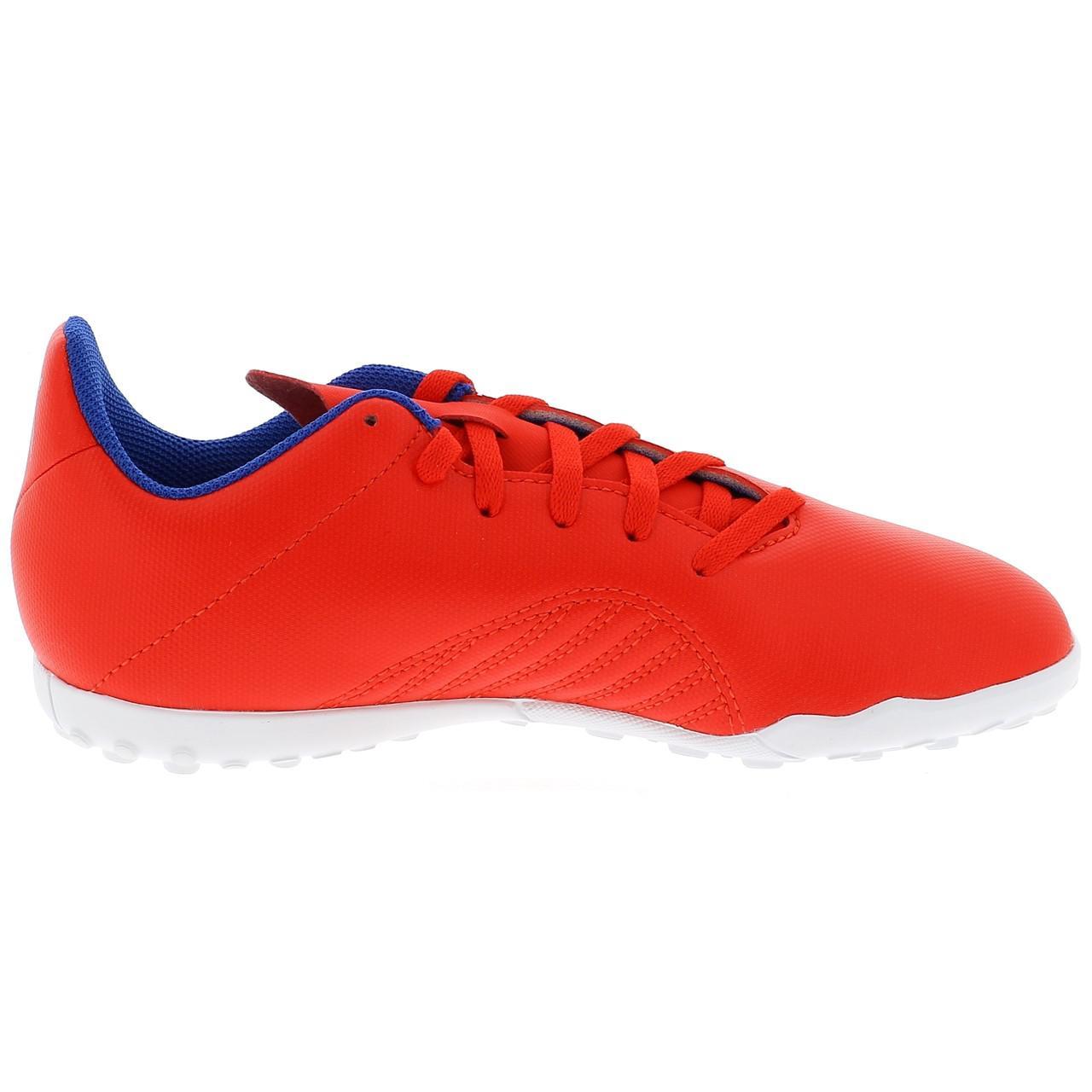 Football-Shoes-Bathroom-Indoor-Adidas-x-18-4-Tf-Jr-Red-54736-New thumbnail 4