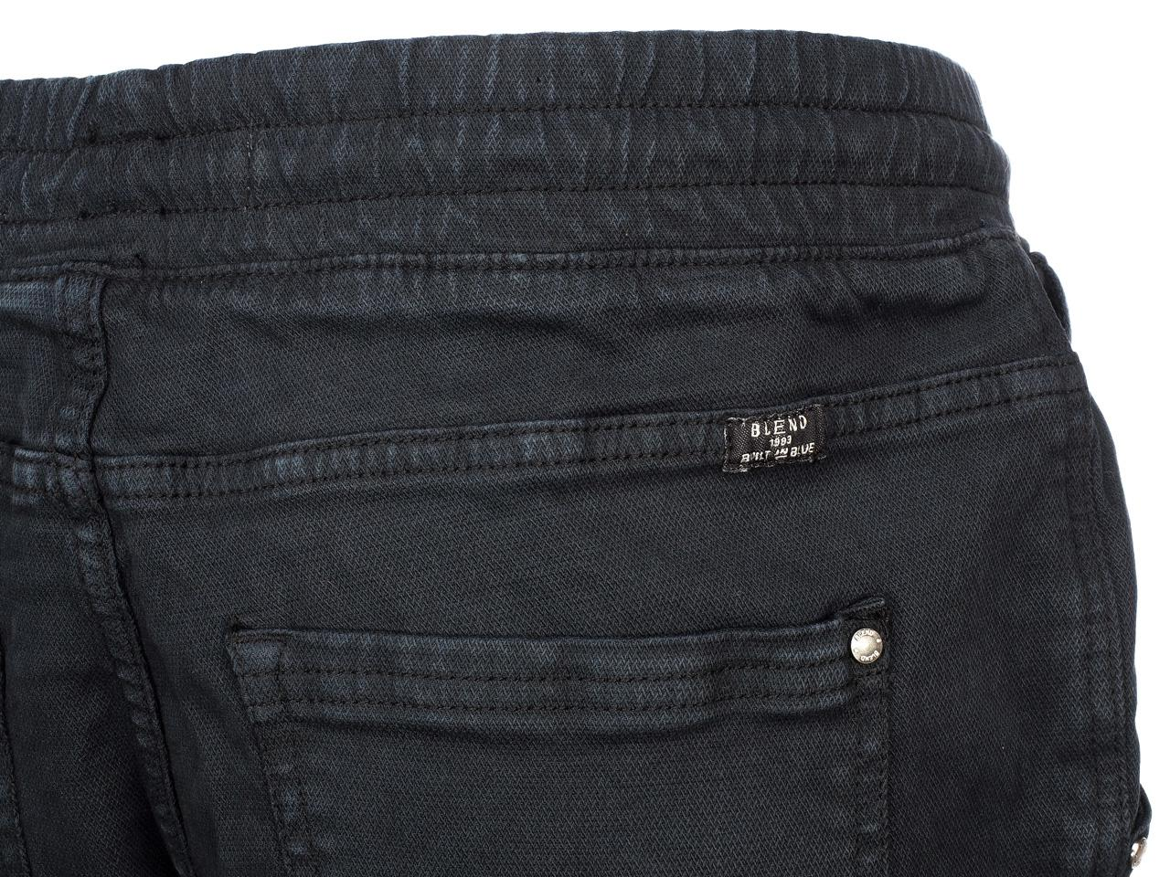 Pantalon-jeans-Blend-Jogg-jeans-34-denim-black-Noir-59114-Neuf miniature 4