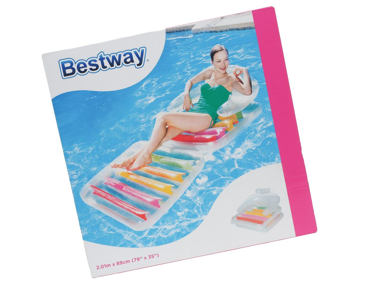 Matelas gonflable plage piscine bestway hight fashion for Piscine gonflable bestway