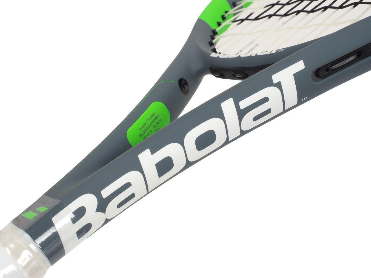 Tennis-Racket-Babolat-Rival-102-Grey-Anise-Grey-70076-New thumbnail 4