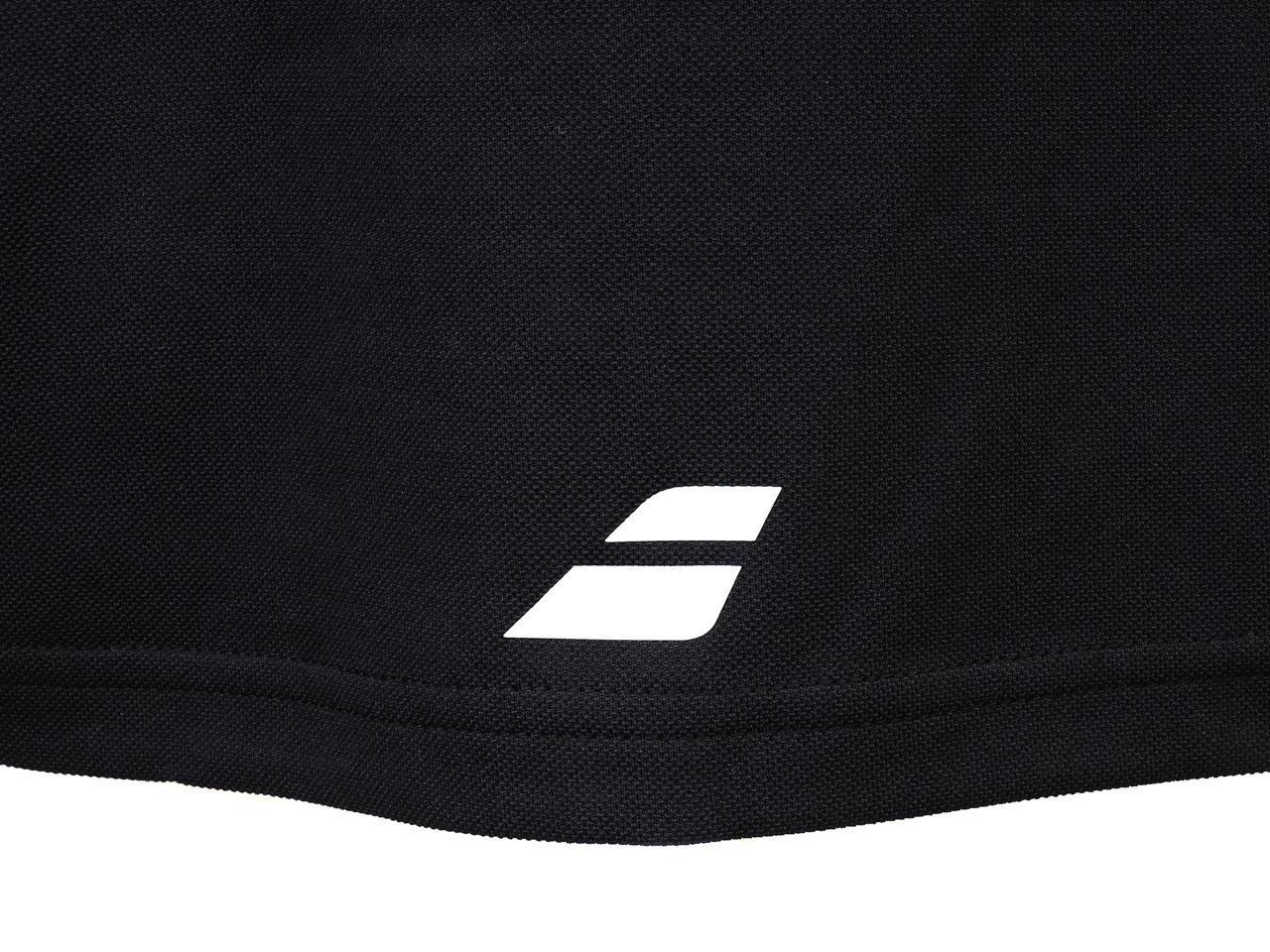 Polo-Tennis-Babolat-Polo-Core-Club-Black-Black-70103-New thumbnail 4