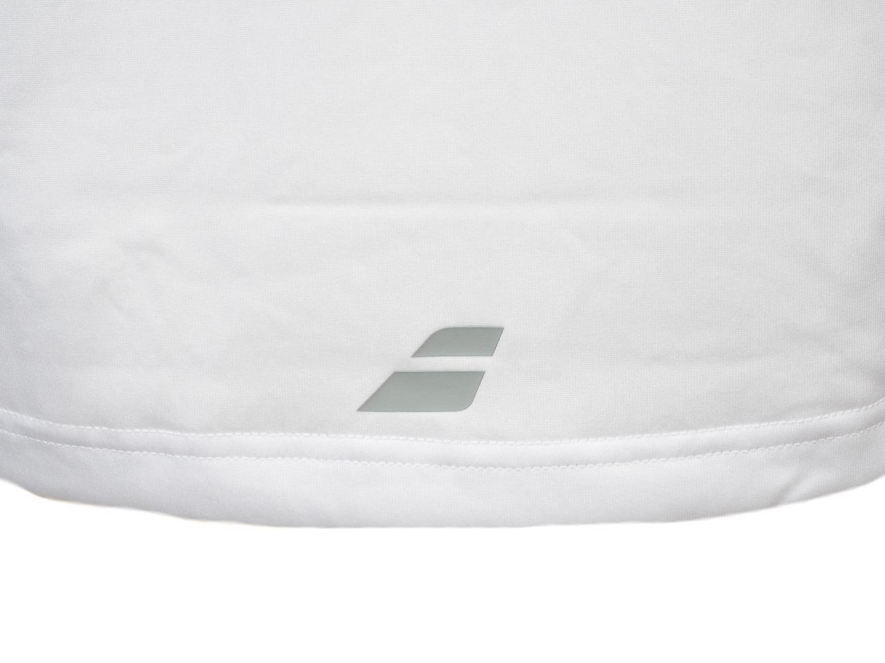 Tee-shirt-de-tennis-Babolat-Tee-core-flag-blanc-Blanc-70114-Neuf