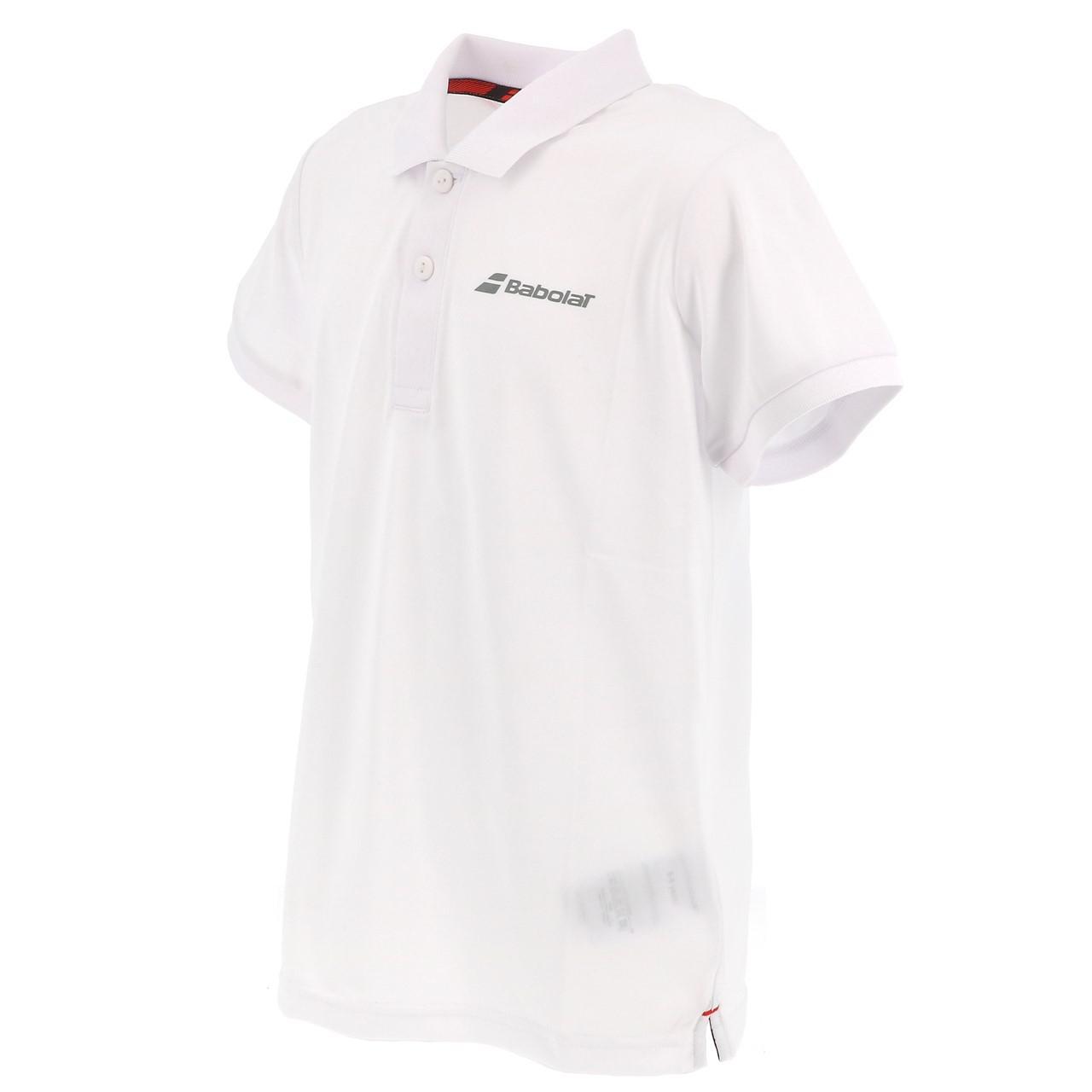 Polo-Von-Tennis-Babolat-Polo-Kind-Weiss-Weiss-71214-Neu Indexbild 4