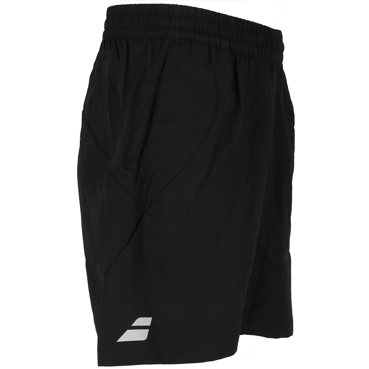 short-Tennis-Babolat-Core-Shorts-8-Men-Schwarz-Schwarz-71700-Neu Indexbild 4