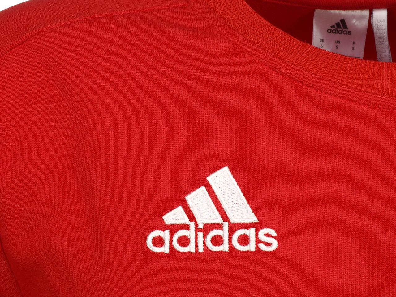 Sweat-d-039-entrainement-joueur-Adidas-Bayern-sweat-h-17-18-Rouge-75732-Neuf