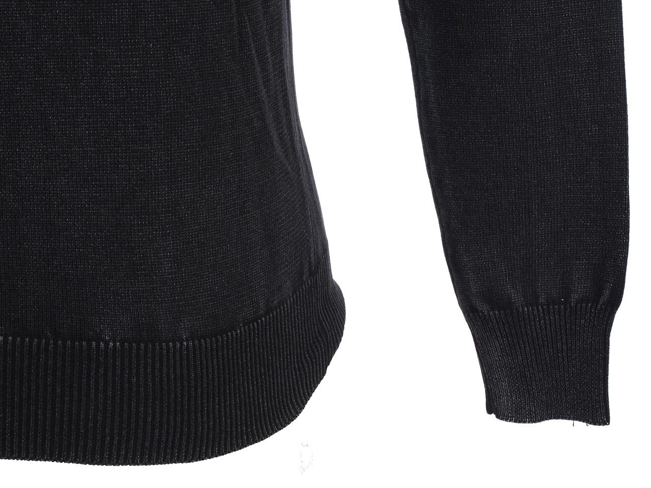 Thin-Sweater-Rivaldi-Black-Gilianu-Black-Black-Sweater-79337-New thumbnail 3
