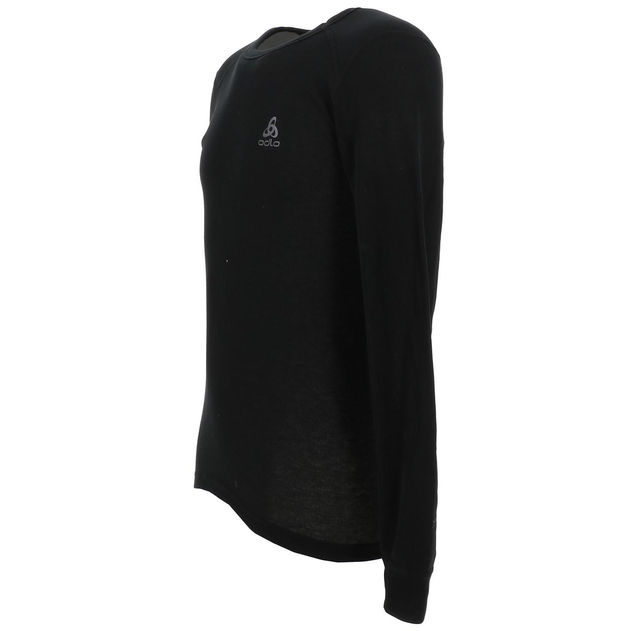 Under-Clothing-Thermal-Hot-Odlo-Warm-Black-DRC-ML-Tee-Black-85353-New thumbnail 4