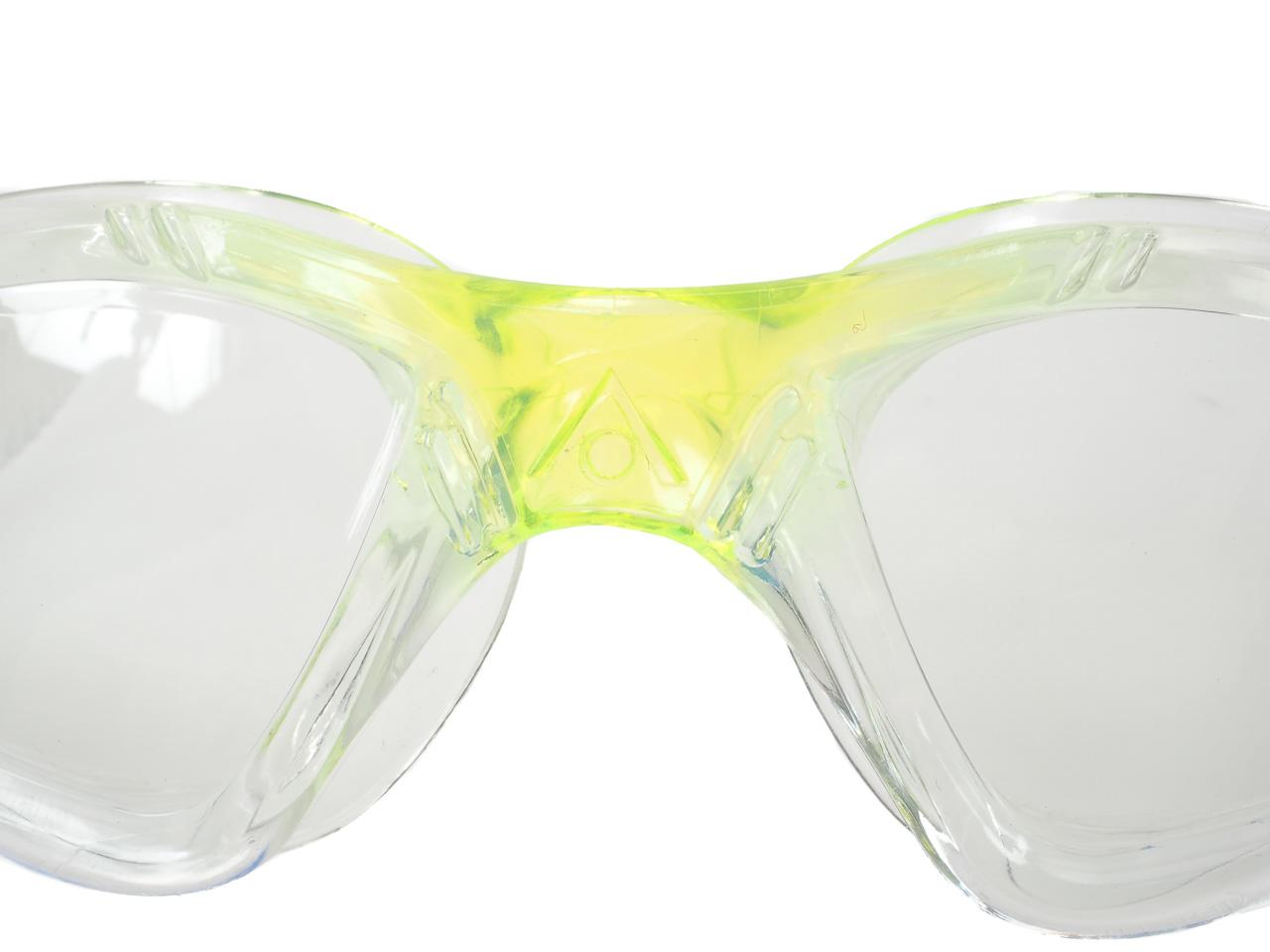 Brille-Bade-Schwimmbad-Aqua-sphere-Kayenne-Jr-Transparent-Lme-CL-L-Weiss-87372 Indexbild 4
