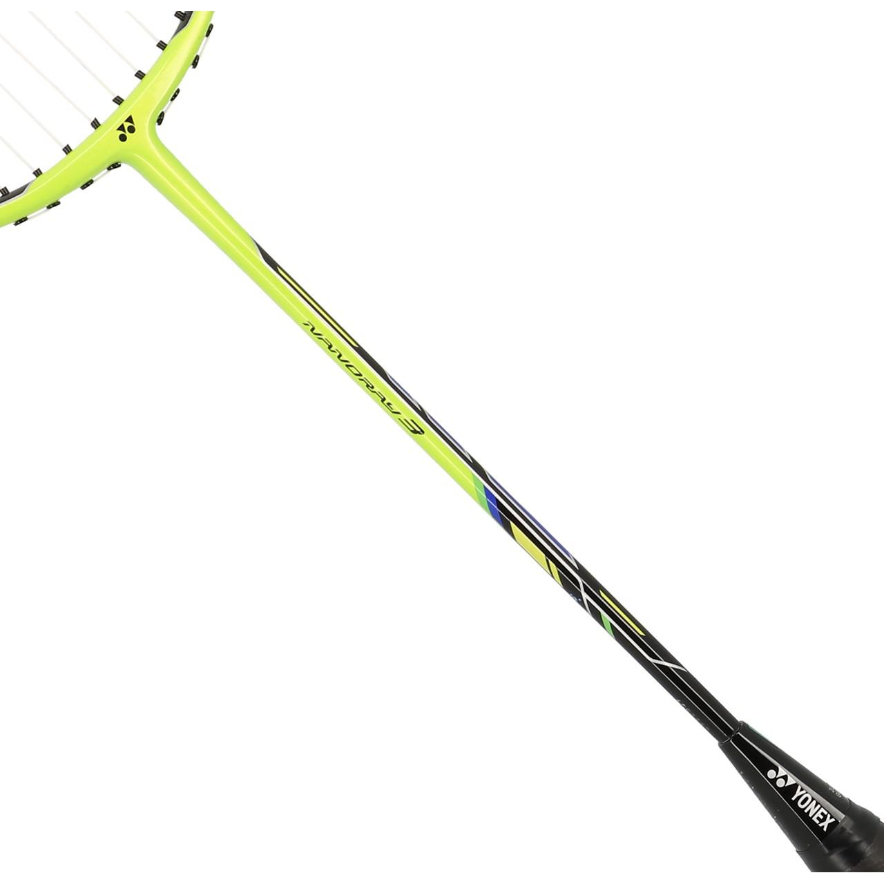 Badminton-Racket-Yonex-Nanoray-3-3u4-Lime-Badminton-Yellow-91913-New thumbnail 4