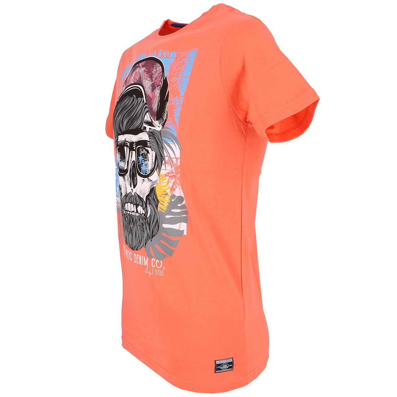 Short-La-maison-blaggio-Mably-Hot-Coral-Mc-Tee-Orange-93614 thumbnail 4