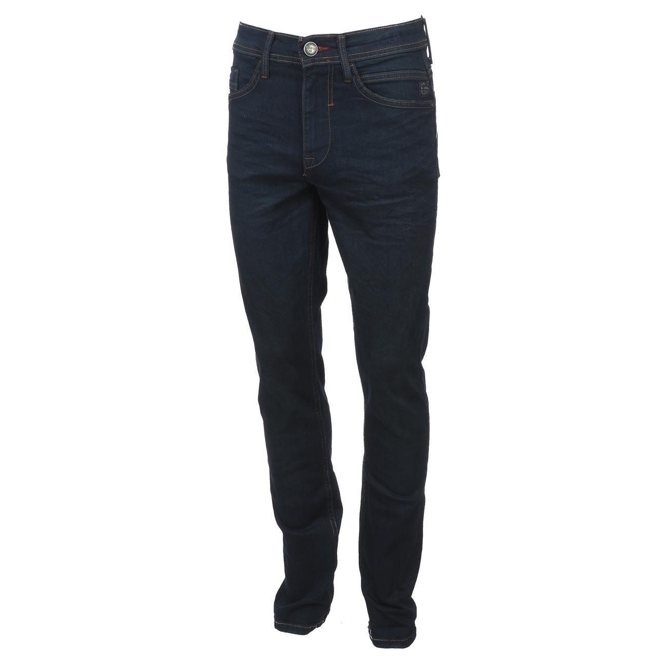 Jeans-Pants-Slim-Blend-Twister-34-Dk-Blue-Blue-Jeans-10961-New