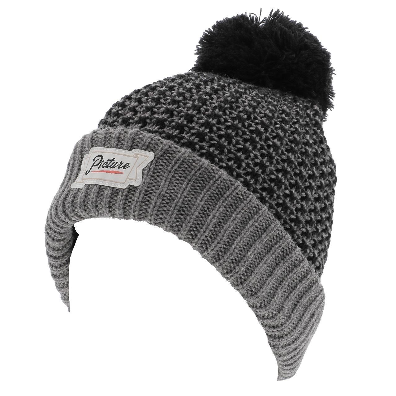 Bonnet-a-pompon-Picture-Ale-beanie-grey-Gris-14177-Neuf