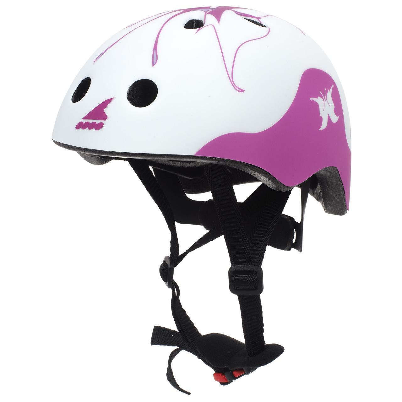 Casque-roller-skate-trotinette-Rollerblade-Twist-jr-blc-casque-Rose-15103-Neuf