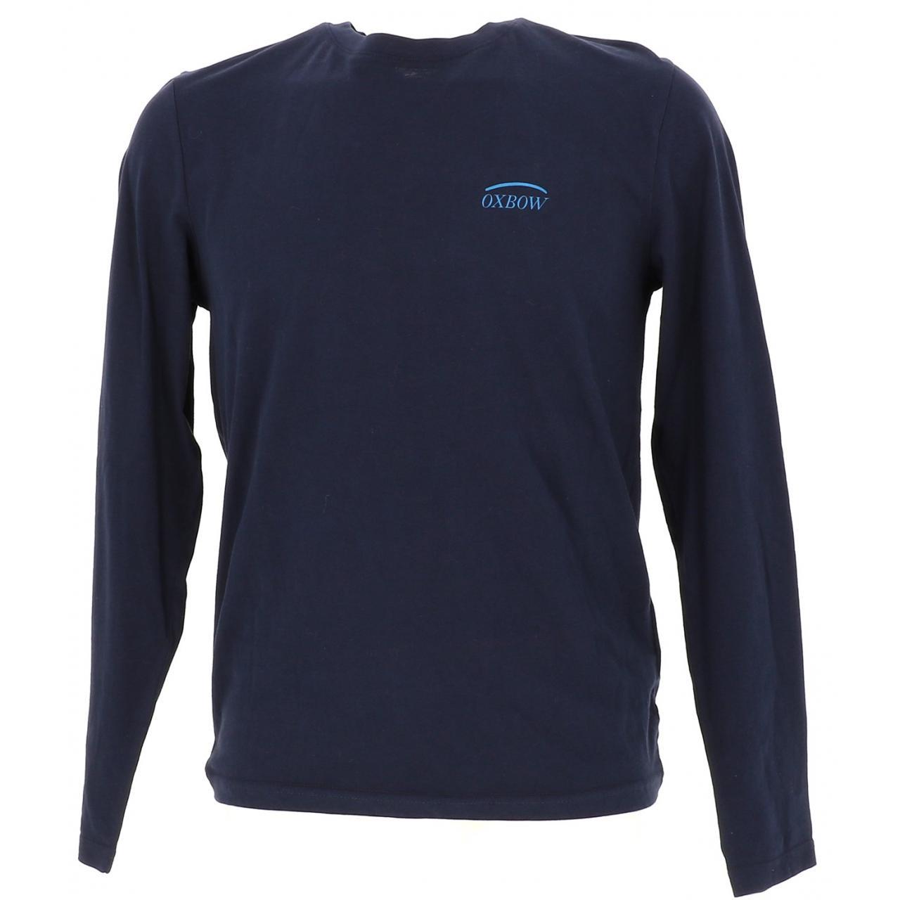 T-Shirt-Oxbow-T-Shirt-Deep-Navy-ML-Blue-16562-New
