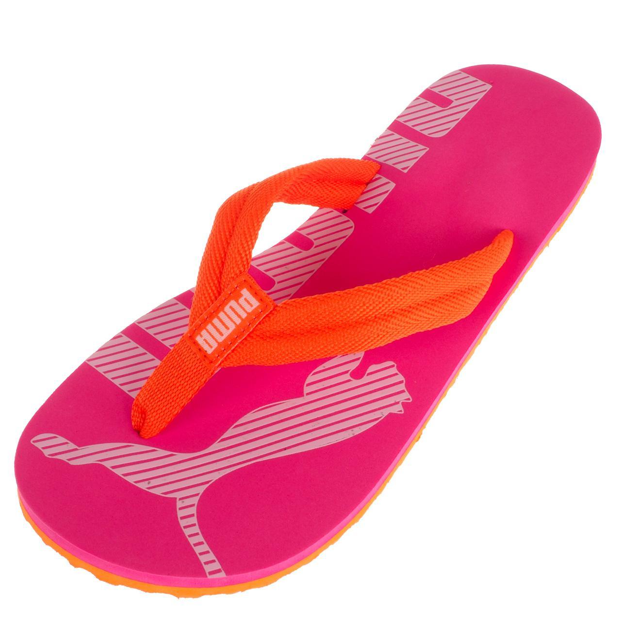 Latschen-Flip-Flops-Puma-Epic-Flip-v2-Rosa-Flip-Flops-Jr-Rosa-17067-Neu