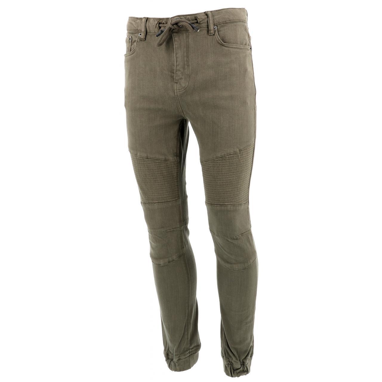 Jeans-Pants-Paname-brothers-Japa-Khaki-Jeans-Green-17196-New