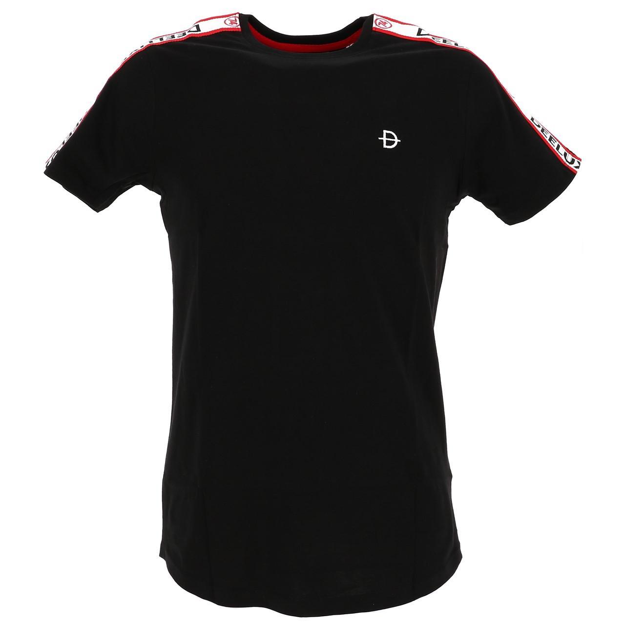 Short-Deeluxe-Bando-Black-Mc-Tee-Black-17843-New