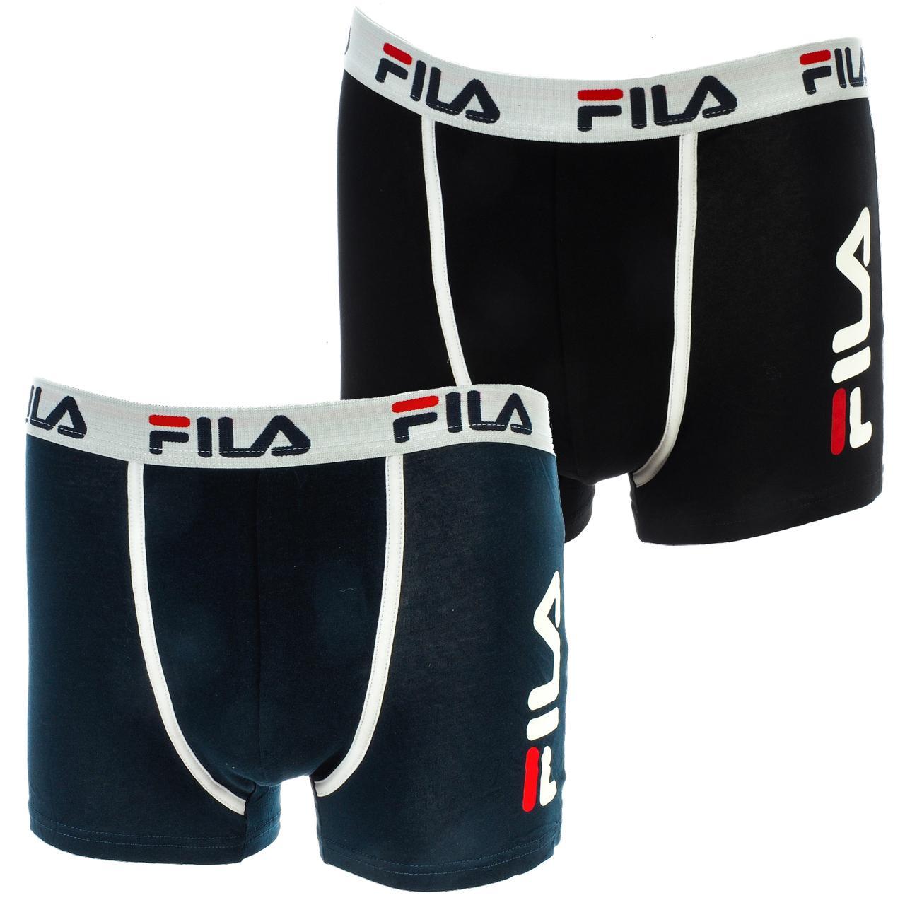 Underwear-Boxer-Fila-Fu5040-Nr-Nv-x2-Boxer-Assorted-17905-New