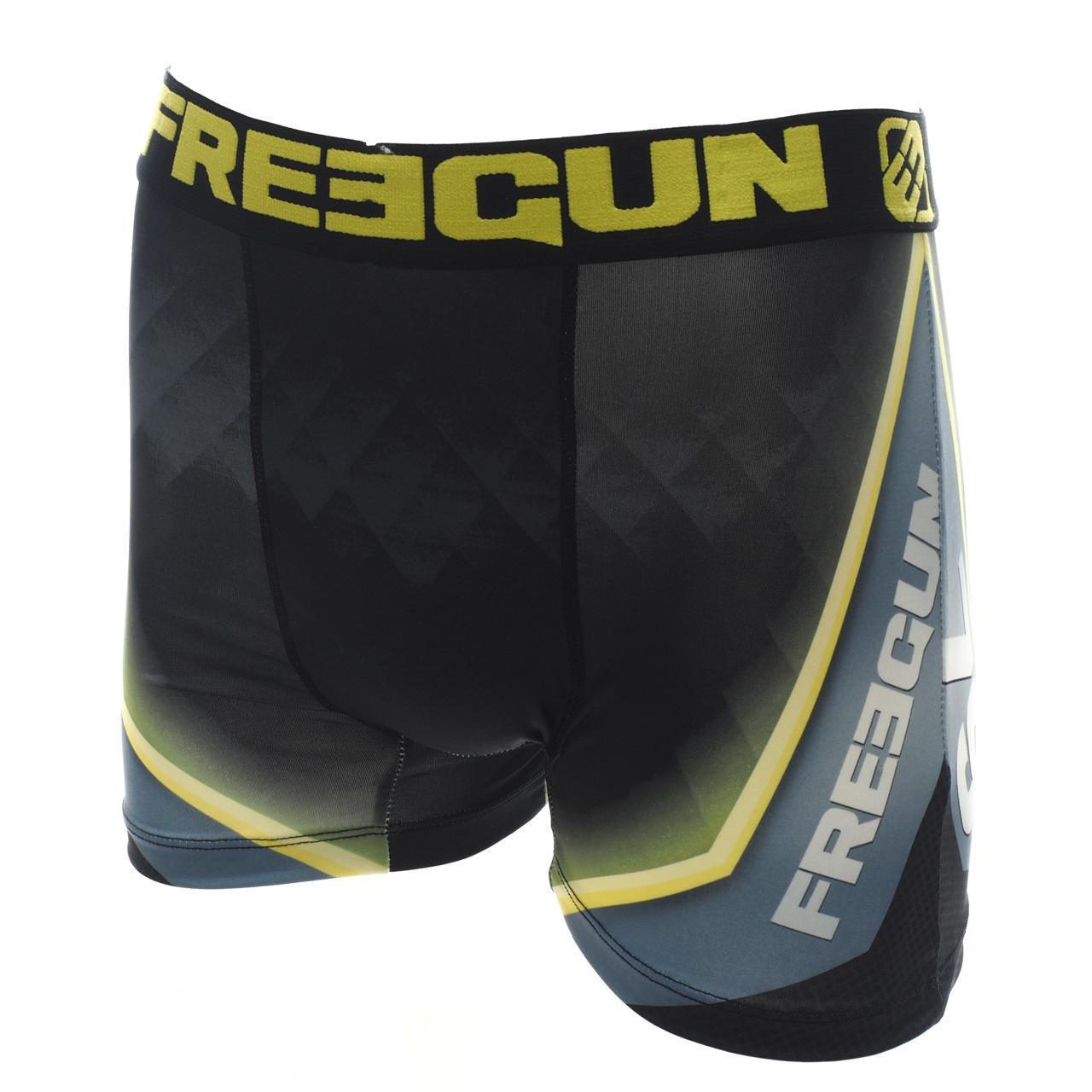 Underwear-Boxer-Freegun-Green-Black-Vrt-Black-Boxer-17919-New