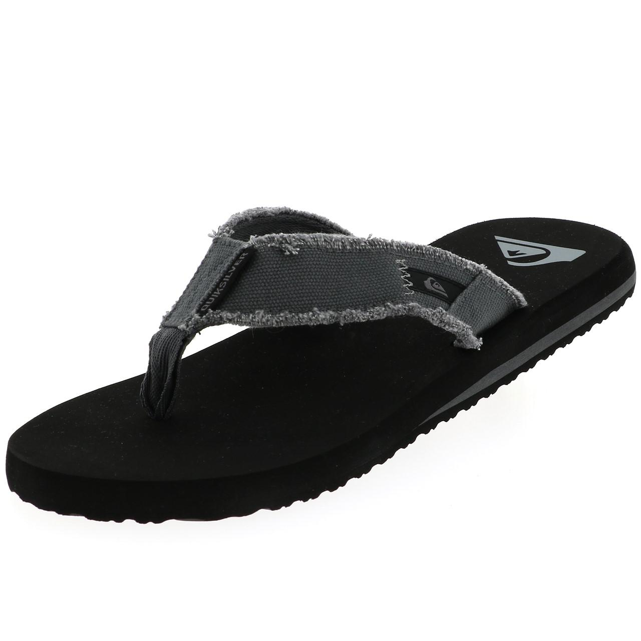 Flip-Flops-Tap-Dance-Shoes-Quiksilver-Monkey-Abyss-Groups-Blk-Flop-Grey-17978 thumbnail 1