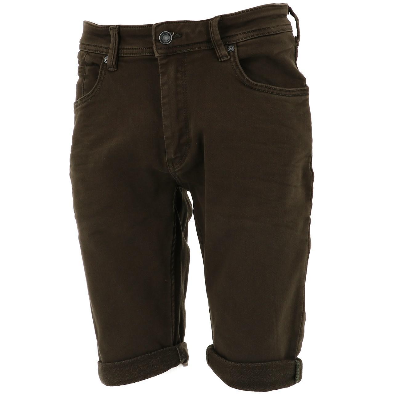 Bermuda-Shorts-Teddy-Smith-Scotty-3-Middl-Khaki-Shorts-Green-18133-New