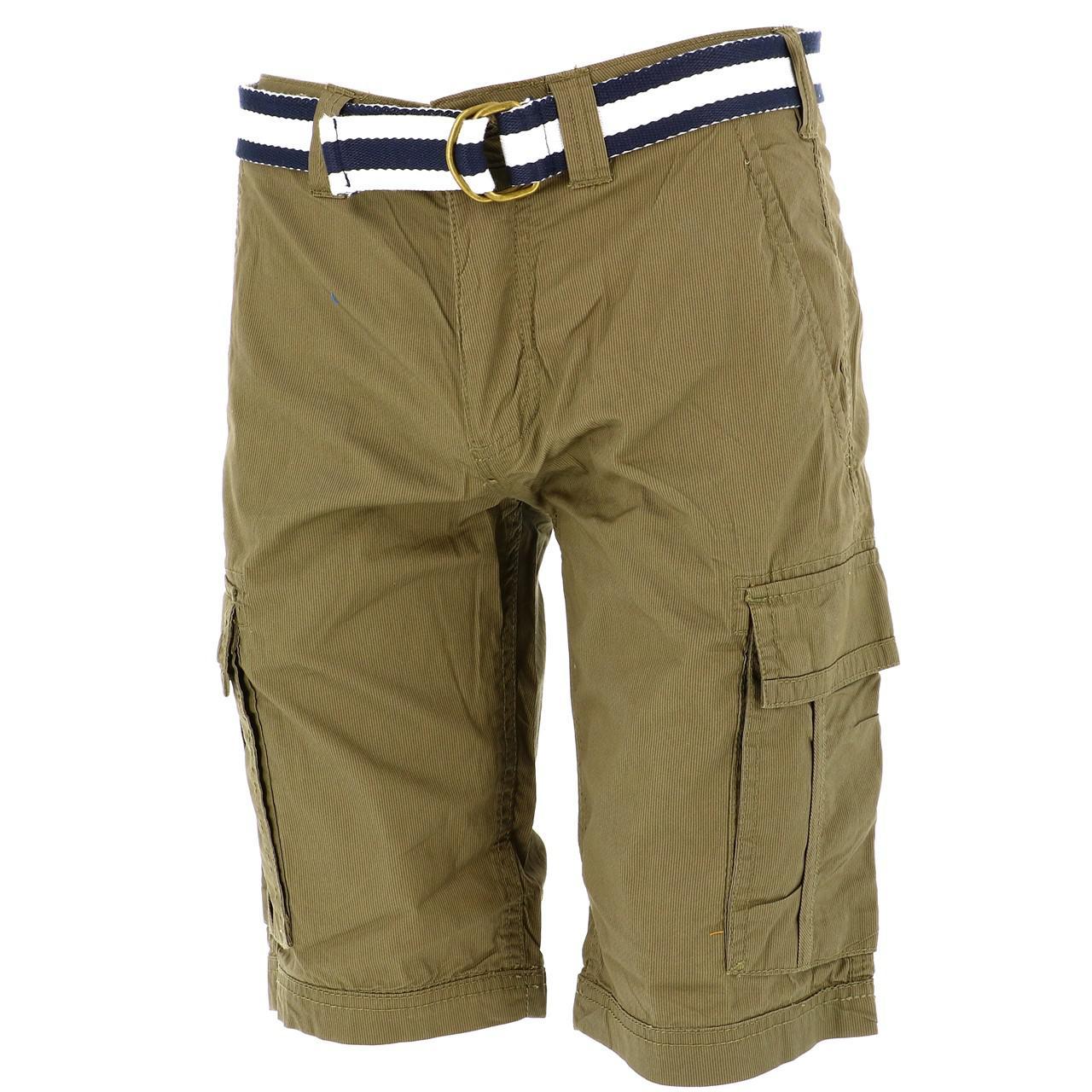 Bermuda-Shorts-Teddy-smith-Sytro-Khaki-Shorts-Jr-Green-18199-New