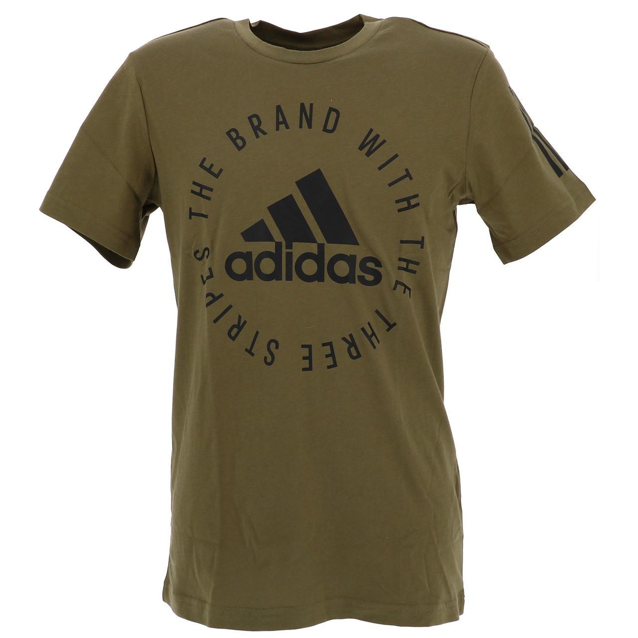 Short-Adidas-Sid-Khaki-Mc-Tee-Green-18234-New
