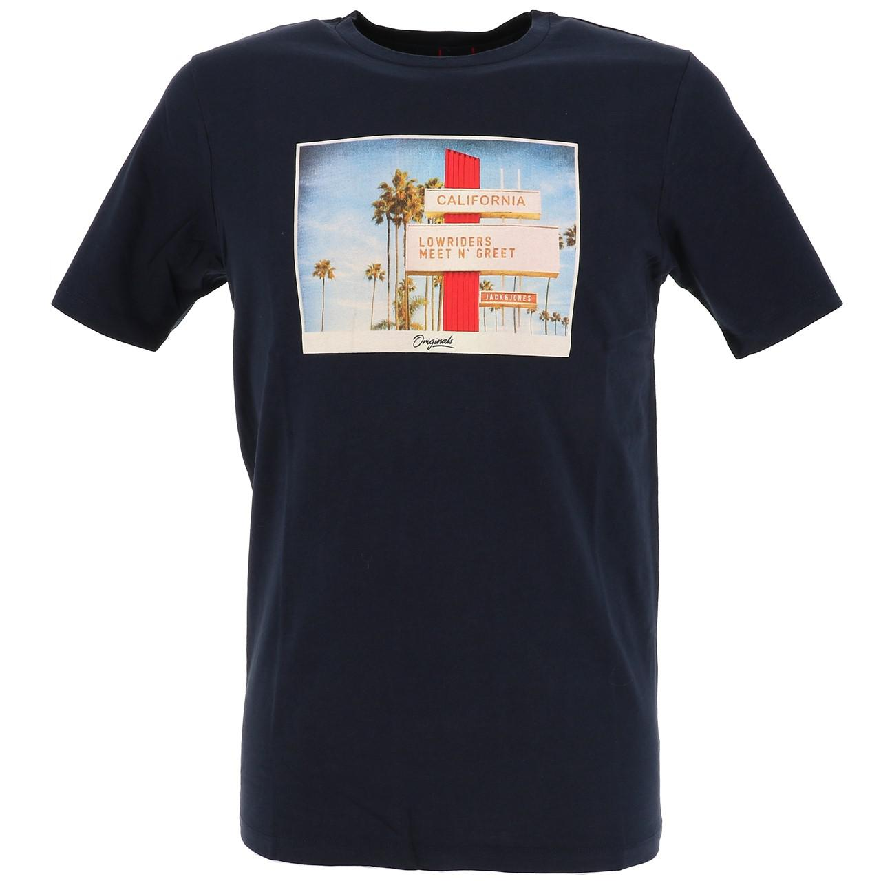 Short-Jack-and-jones-Hotel-Total-Eclipse-Tee-Blue-18535-Does-Not