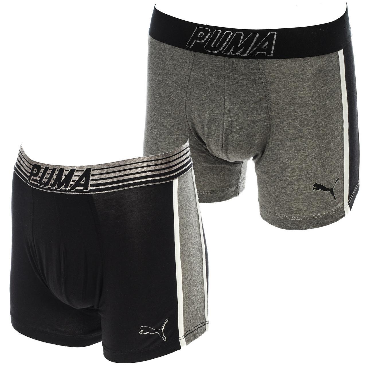 Underwear-Boxer-Puma-Bold-Blk-Groups-Boxer-x2-Assorted-18749-New