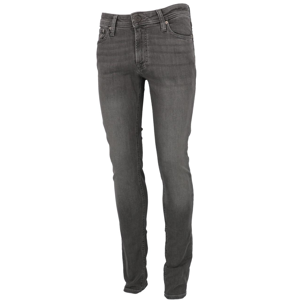 Jeans-Pants-Jack-and-jones-Liam-32-Grey-Denim-Jeans-Grey-19911-New
